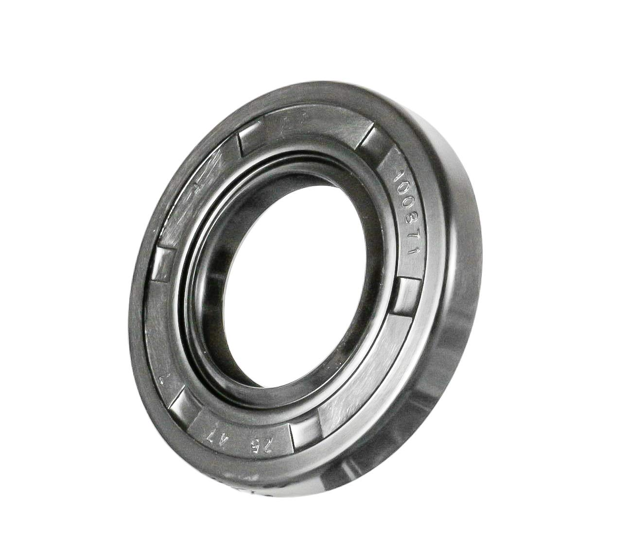 Oil Seal 25X47X7 (10 PCS) Oil Seal Grease Seal TC |EAI Rubber Double Lip w/Garter Spring 25mmX47mmX7mm | 0.984''x1.850''x0.276''
