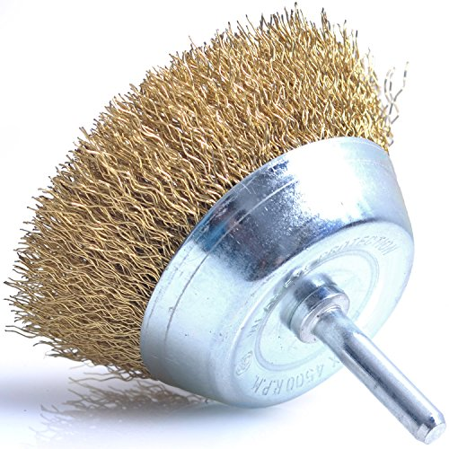 Abrasive Cup Power Brushes - Vinyl cup brush