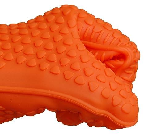 Amazon.com: Guantes de Horno de silicona. Muy Grueso 178 g ...