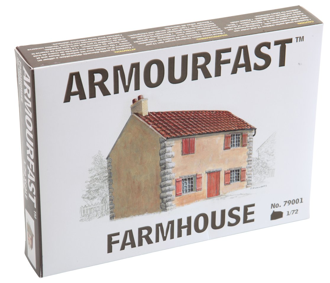 Armourfast 2-Story Farm House (1/72 Scale)