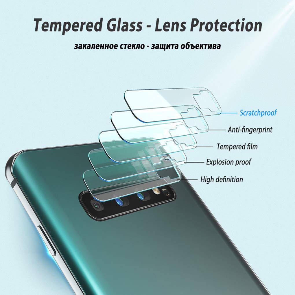 S10e T/él/éphone Retour Objectif Camera Film Verre Tremp/é Protecteur d/écran Sunlera Remplacement pour Samsung Galaxy S10 S10 Plus