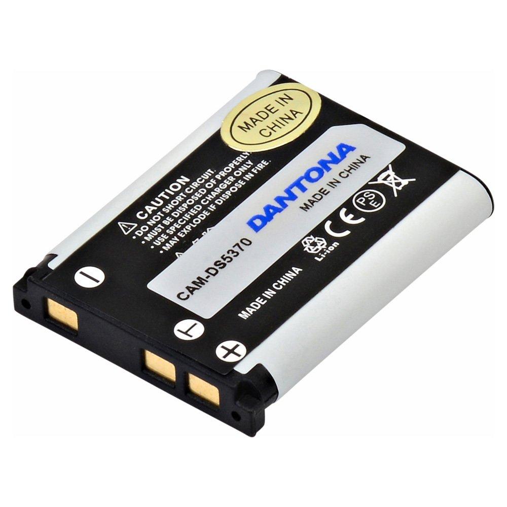 ビデオカメラ、デジタルカメラcam-ds5370リチウム、リチウムイオン(ICR/CGR/リル) バッテリー B06Y1VF7K4