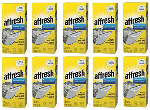 Affresh W10549850 Dishwasher Cleaner GxqnJf, 30 Tablets in Carton by Affresh