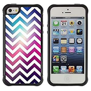 Lady Case@ Chevron White Universe Purple Pink Rugged Hybrid Armor Slim Protection Case Cover Shell For iphone 5S CASE Cover ,iphone 5 5S case,iphone5S plus cover ,Cases for iphone 5 5S