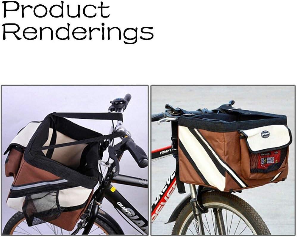 Transportín para perros Box portátil bicicleta cesta bicicleta ...
