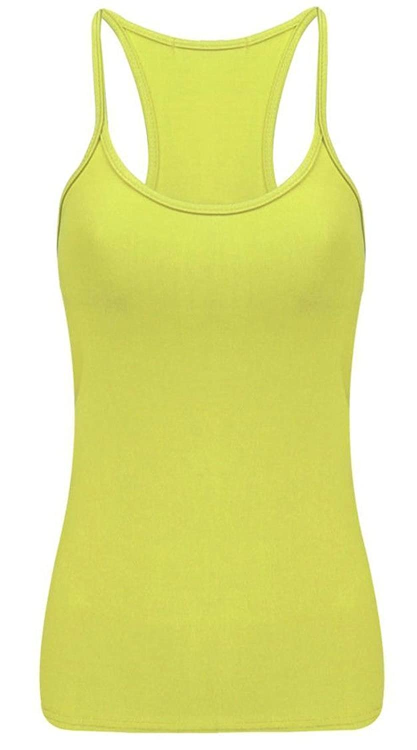 Crazy Chick Girls Neon Racer Back Vest Top Age 5-12 Years