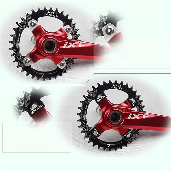 SNAIL MTB Bike Chainring Bolts Crankset Screws Square Cycling Chainwheel Nails