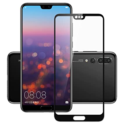 Amazon com: 3D Huawei p20 pro Tempered Glass for Huawei p20