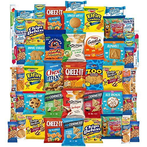 - Ultimate Snacks Care Package (50 Count)