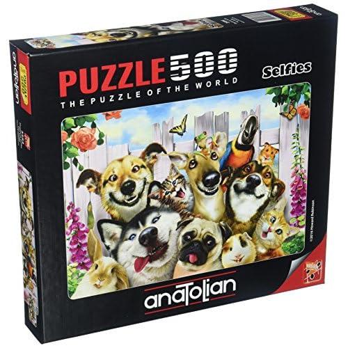 Anatolian Pet Selfie Jigsaw Puzzle (500 Piece) [7QvBG1706958