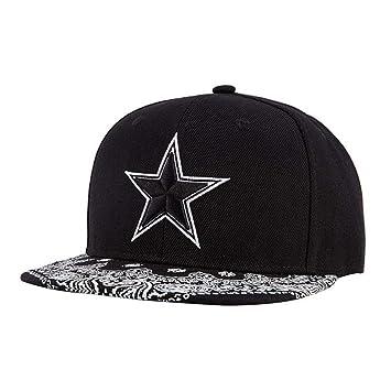 FXSYL Gorra de Beisbol Gorras Planas Hip Hop Gorra Snapback ...