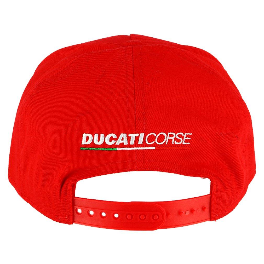 Ducati Corse Moto GP Racing Flat Peak Cap Red Official 2018