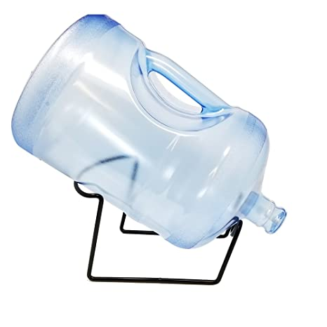 "53f5638f90 3 Gallon""Short"" 18.92 Liter BPA Free Plastic Reusable Water Bottle  Container Jug with"