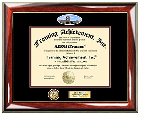 Amazon.com : Queens College Diploma Frame CUNY Campus Picture with ...