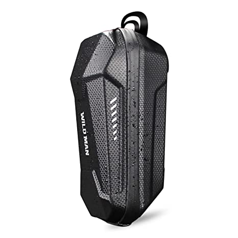 Funda universal para scooter eléctrico Manija de la bolsa de EVA Estuche rígido impermeable de usos múltiples con diseño de tira reflectante ...