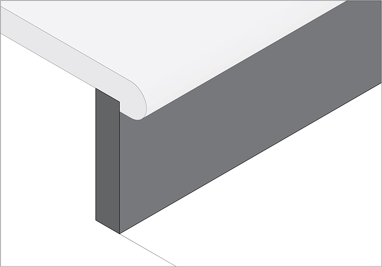 50mm Overall Length Micro 100 4mm Shank Diameter Right Hand Boring Tool Solid Carbide Tool 0.75mm Projection 3mm Minimum Bore Diameter 8mm Maximum Bore Depth No Cutting Radius Metric Dimensions BBM-040308
