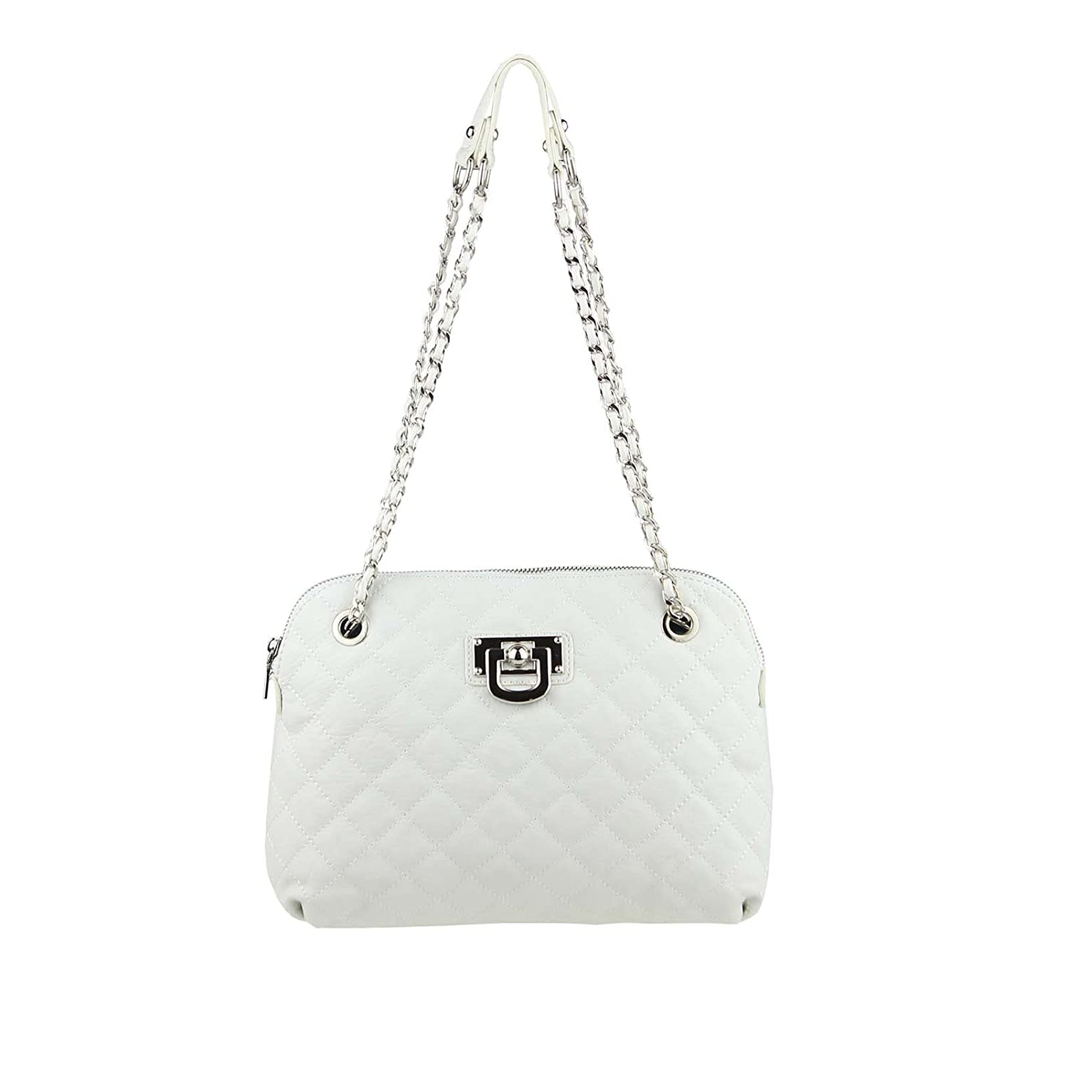 OBC Only-Beautiful-Couture Women's Top-Handle Bag White WHITE 30x23x6 cm (BxHxT)