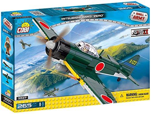 COBI 5537 Small Army Mitsubishi A6M3 Zero Plane, ()