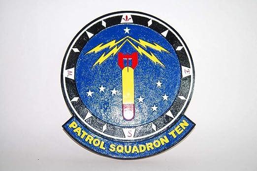 Amazon.com: Squadron Nostalgia LLC VP-10 Red Lancers Plaque ...