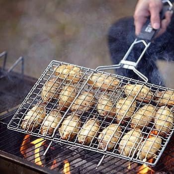 Amazon Com Charcoal Companion Nonstick Kabob Grilling