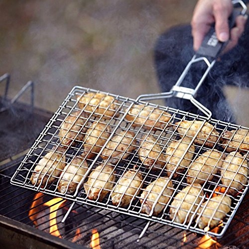AIGMM Portable Stainless Barbecue Vegetables
