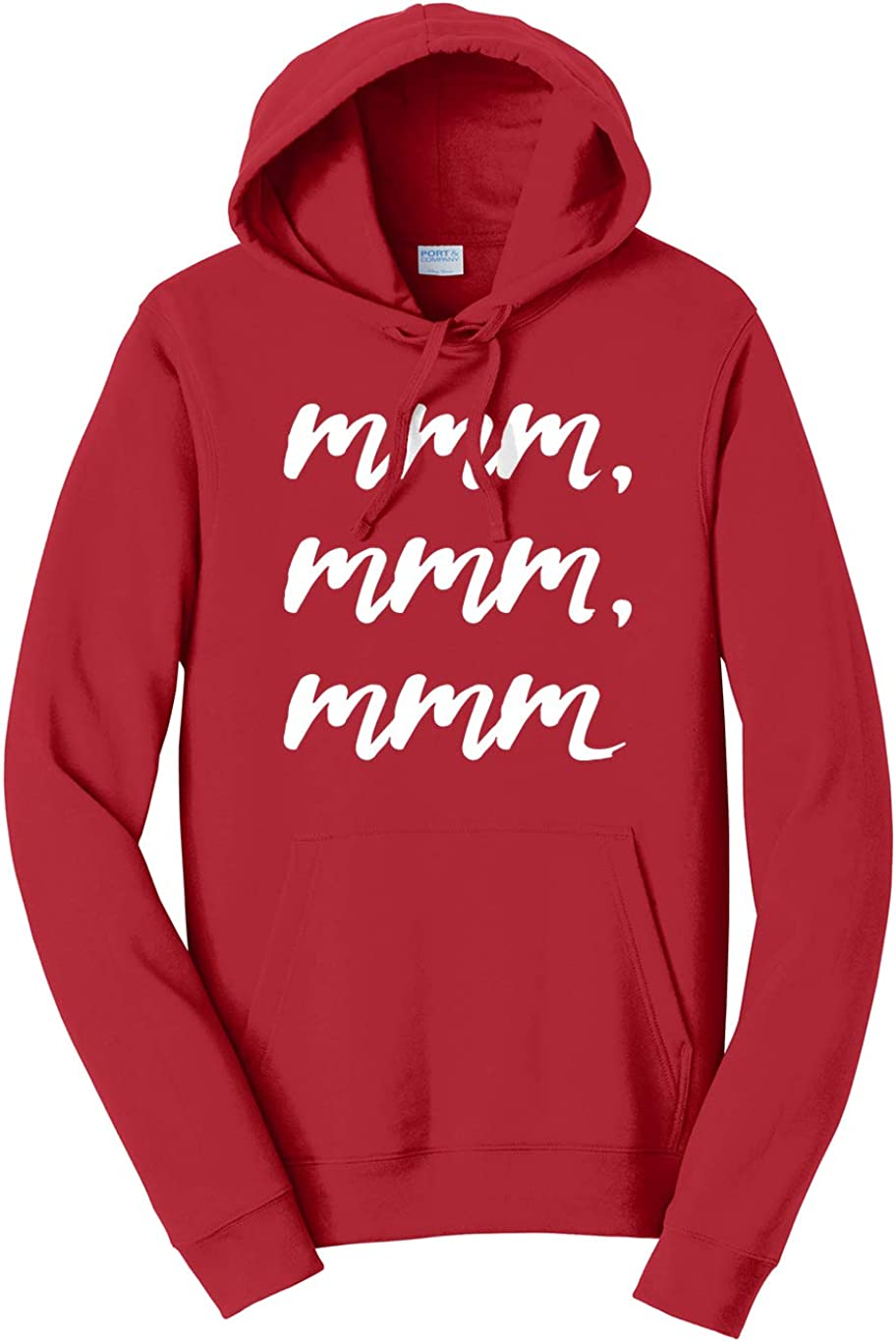 Tenacitee Unisex Mmm mmm Hooded Sweatshirt mmm