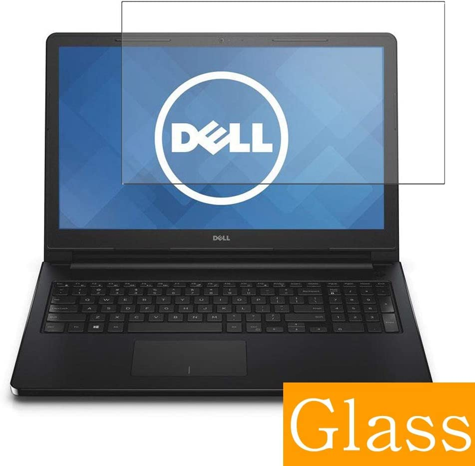 """Synvy Tempered Glass Screen Protector for Dell Inspiron 15 5000 (5558) 15.6"""" Visible Area Protective Screen Film Protectors 9H Anti-Scratch Bubble Free"""