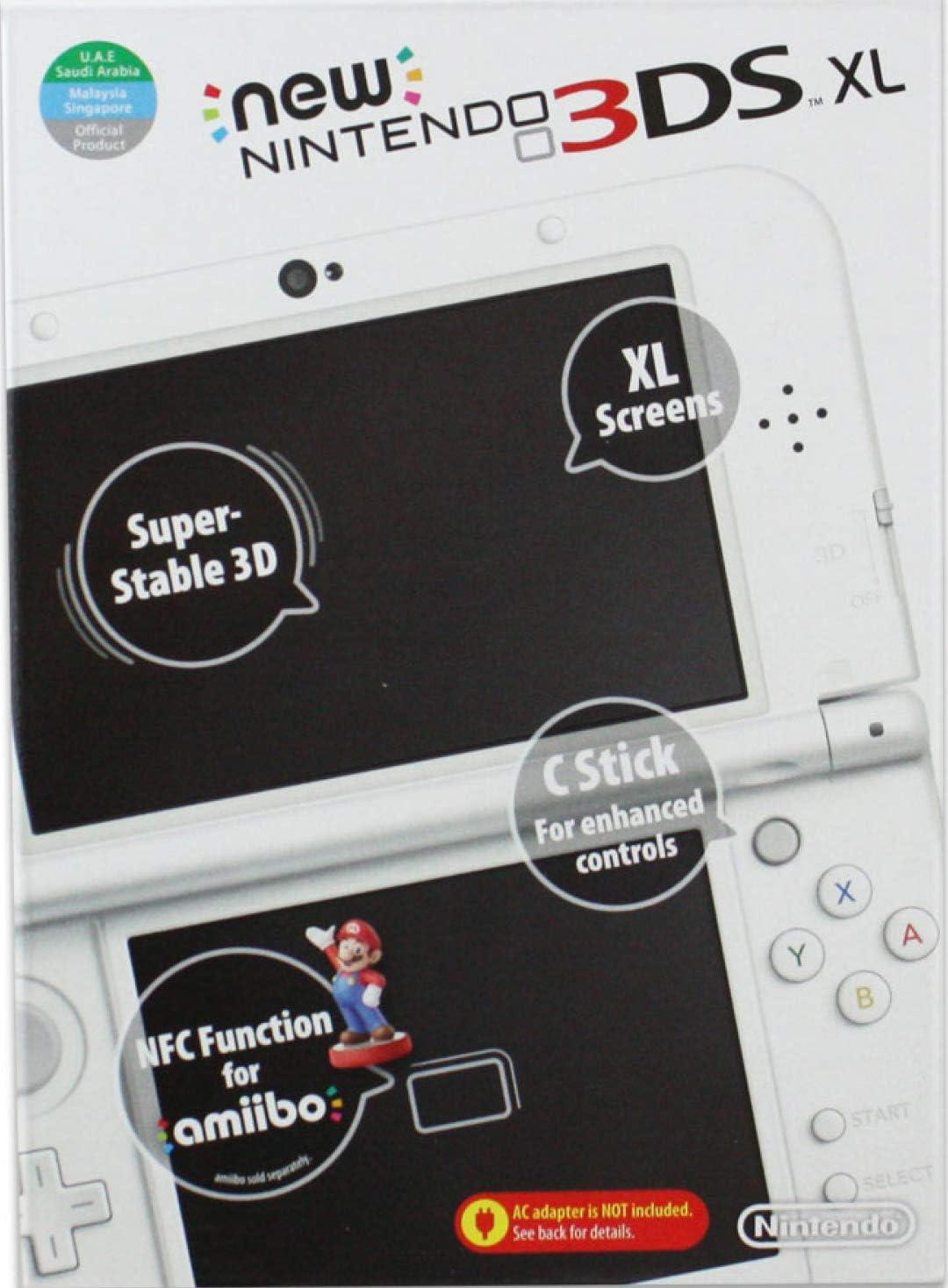 New Nintendo 3DS XL Console – Pearl White