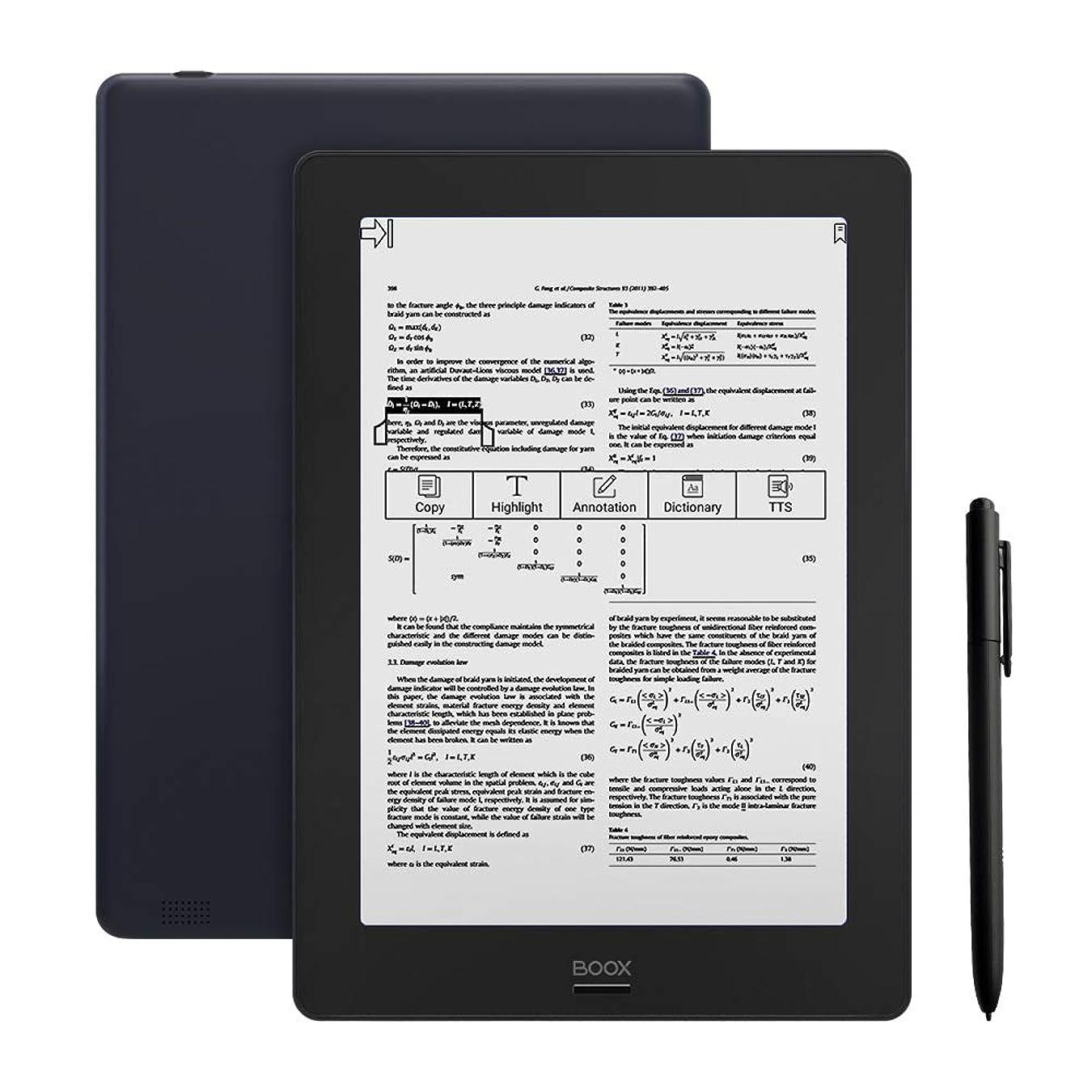 ブランチ質量変化するLikebook Mimas 10.3インチ 電子書籍リーダー オクタコア 2GB RAM 16GBストレージ【Likebookミマス本体、オリジナルハードカバー、スクリーン保護フィルム、英語マニュアル】 デュアルフロントライト Android 6.0 ハンドライティング-黒色