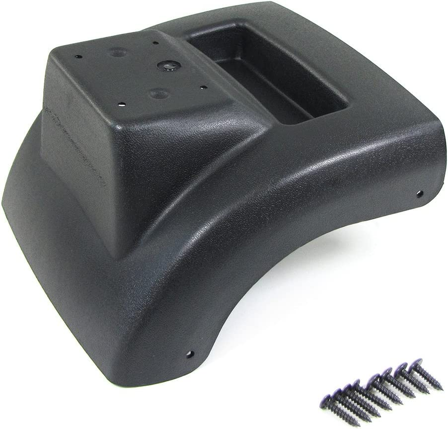 Medio Consola reposabrazos regulable, con bandeja Negro