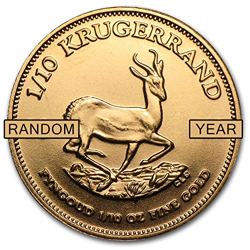 1967 ZA - Present South Africa 1/10 oz Gold Krugerrand (Random Year) Gold About Uncirculated ()