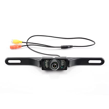 Ebay Motors Waterproof Car License Plate Reverse Rear View Camera 8led Infrared Night Vision