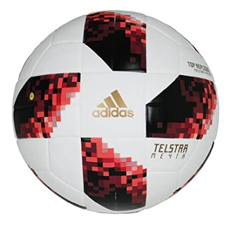 bc03bb2e7 Amazon.com : Telstar Adidas World Cup Russia 18 Knock Out Top Replique  Soccer Ball (5 (Ages 13+)) : Sports & Outdoors