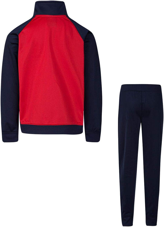 Color Block Jacket /& Pants 4, Navy NIKE Little Boys 2-Pc