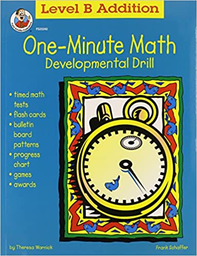 One-Minute Math: Level B Addition Sums 11 to 18 (FS-23242 ...