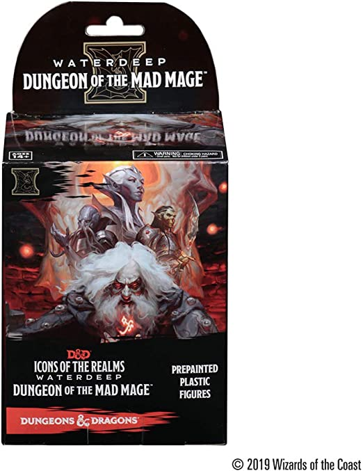 D/&D Icons of the Realms #026 Otto Large Figure Dungeon of the Mad Mage
