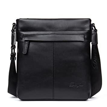 6e8773862e DANJUE men s bag top layer cowhide vertical shoulder bag business casual  messenger bag men s backpack bag
