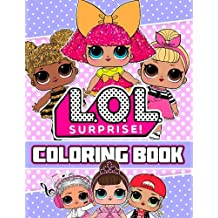 L.O.L. Surprise! Coloring Book: 44 Illustrations for Kids