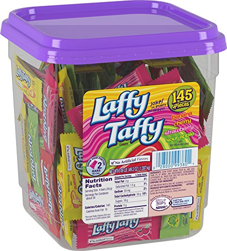 Laffy Taffy Assorted Candy Jar, 145 Count