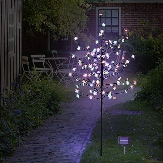 Amazon Com Szminiled 5ft 104led Solar Lights Outdoor Cherry