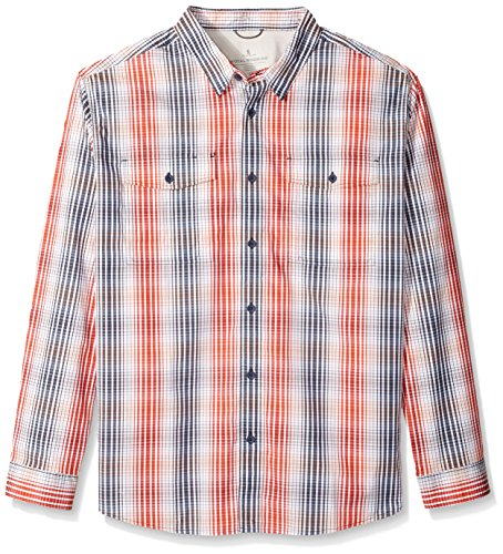 Royal Robbins Men's Vista Chill Plaid Long Sleeve Shirt