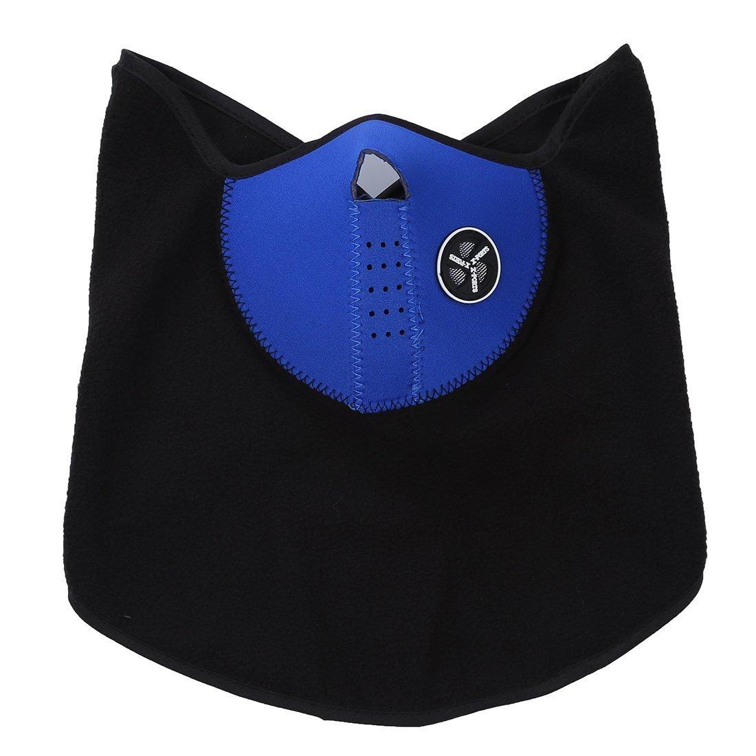SODIAL(R) Mascarilla Mascara Unisex Protector de Cara Cuello para Esqui Ciclismo Motocicleta