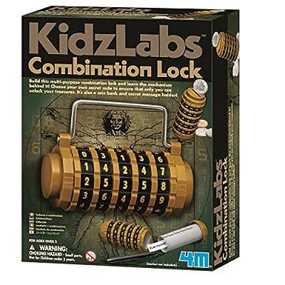 Zahlenschloss (Experimentierkasten): Toys & Games