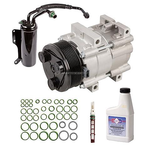 Nueva Original AC Compresor y Kit de reparación de + a/c de embrague para