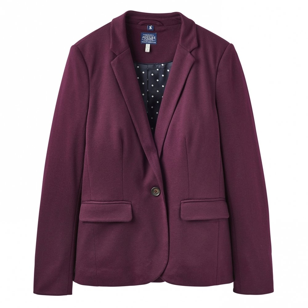 Joules Womens/Ladies Mollie Soft Jersey Casual Fit Versatile Blazer Joules Clothing