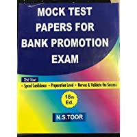 Mock Test Papers For Bank Promotion Exam For All Banks