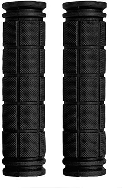 Soft BMX MTB Cycle Road Mountain Bicycle Scooter Black Handlebar End Grips