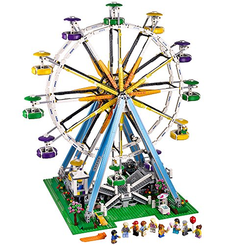 (LEGO Creator Expert Ferris Wheel 10247 Construction)