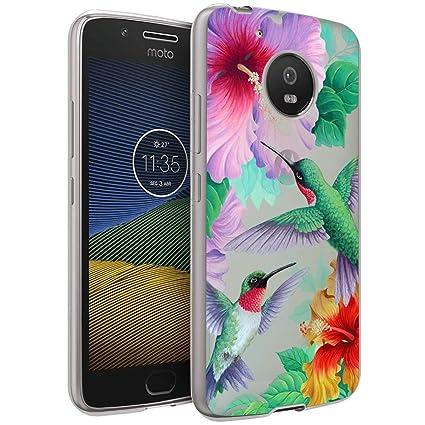 Amazon.com: Dazhi Moto G5 - Carcasa para Moto G5, diseño de ...