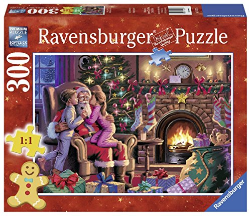 Ravensburger Kissing Santa Format Family Puzzle (300 Large)